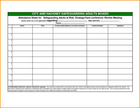 the template attendance sheet template exle mughals