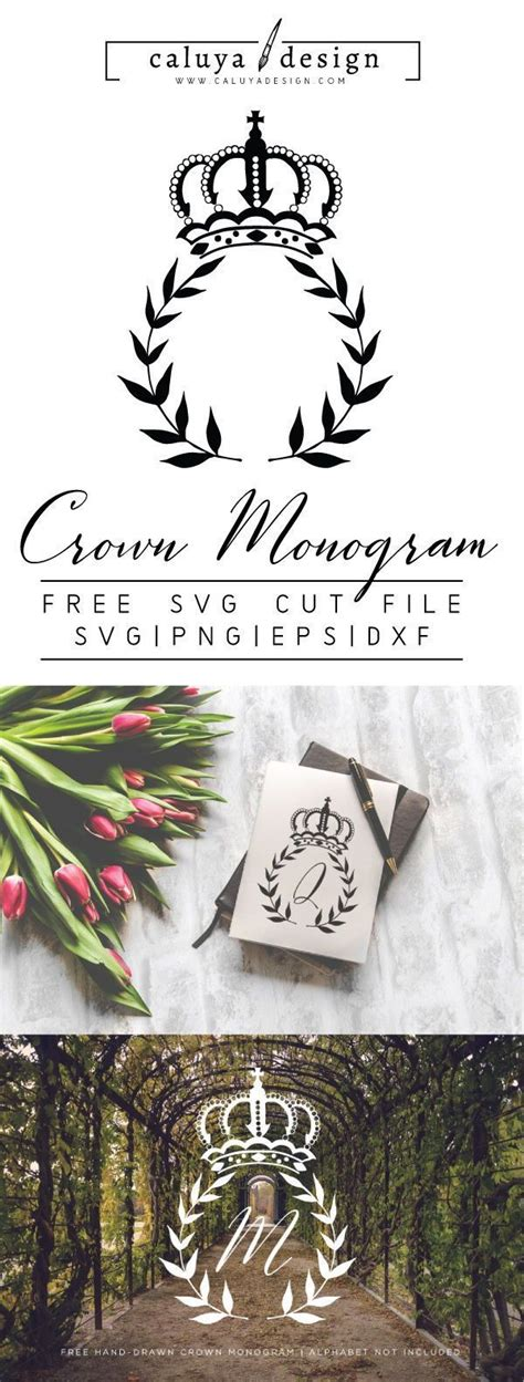 Svg files are for use with other vector and craft imaging programs. FREE Crown Monogram SVG, PNG, EPS & DXF File Download ...