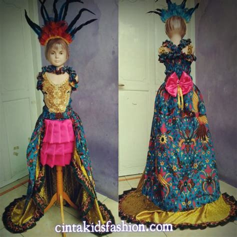 juara model baju batik fashion etnik cintakidsfashion