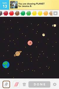 Drawn Planets - Pics about space