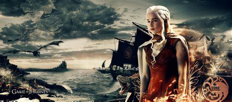 game  thrones khaleesi  ultra hd wallpaper