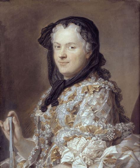 portrait en pied de la marquise de pompadour panorama de l