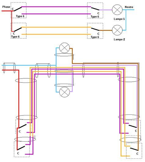 3 interrupteurs 1 le va et vient forum electricit 233 syst 232 me d