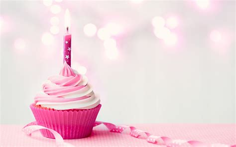 1920 By 1200 Wallpapers Happy Birthday Images Pink Cake With Candle Light Download Free 4k Artwork Background Wallpapers