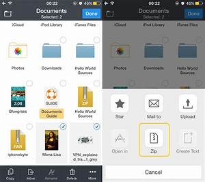 how to open zip files on iphone and ipad best unzip apps With create documents on iphone
