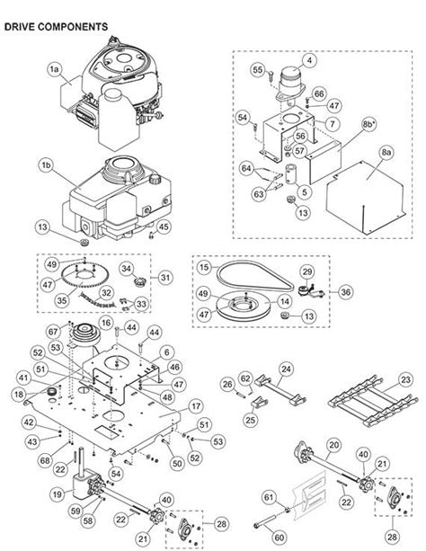 fisher pro caster drive parts