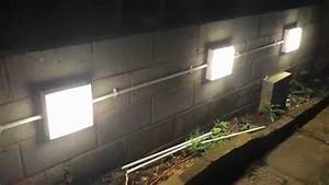 Installing Garden Wall Lights