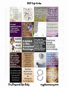 My Planner Envy: ECLP Life Quote Squares - Life Quotes