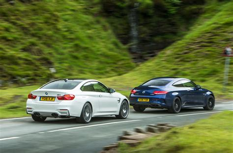 Vs C63s by Mercedes Amg C63 S Coup 233 Vs Bmw M4 Competition Pack