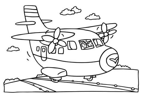 Vliegveld Kleurplaat by Kleurplaat Thema Vliegveld Kleuters Theme Airport