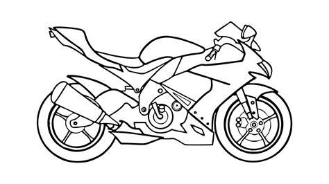 Como Desenhar Uma Moto (motocicleta)