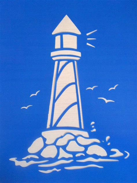 Craft Ideas For Kitchen - lighthouse stencils by bellaartanddesign on etsy kitchen ideas pinterest stenciling etsy