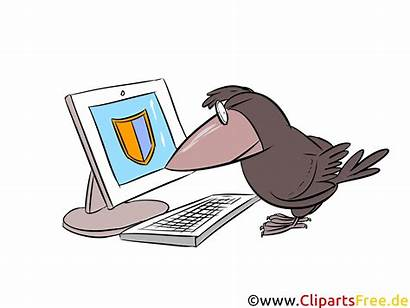 Clip Security Clipart Technology Naechstes Clipartsfree