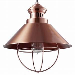 Suspension Industrielle Noire : suspension industrielle cuivre 32 cm koya design ~ Teatrodelosmanantiales.com Idées de Décoration