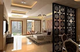 Example Design Of Divider For Living Room by Simple Floor To Ceiling Room Dividers Design For Modern Living Room Decolov