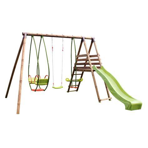 siege balancoire soulet station bois cumin soulet king jouet portiques