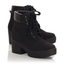 womens boots wholesale uk womens black lace up ankle boots