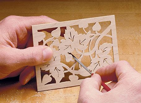 fretwork picture frame woodworking project woodsmith plans