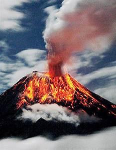 Ein Vulkan Spukt Asche - Zisch-texte