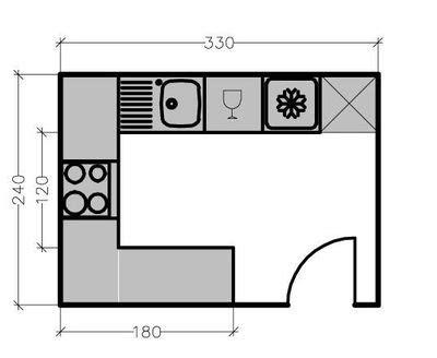 plan cuisine en u plans cuisine maison 7 solutions pour une disposition en