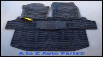 jeep grand cherokee commander slush floor mats dark khaki