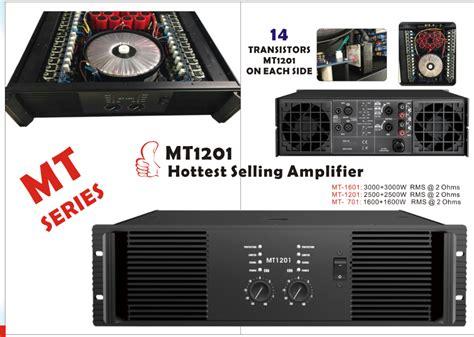 2016 India Amplifier Class H 2ohm 2500w 6800uf/100v Mt1201