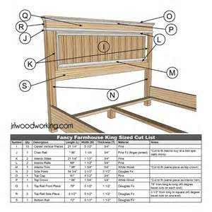 farmhouse king size bed frame plans car tuning