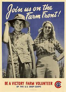 join us on the farm front be a victory farm volunteer