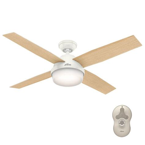 universal remote for ceiling fan and light dempsey 52 in led indoor fresh white ceiling fan