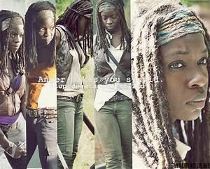 The Walking Dead WALLPAPER FANMADE Michonne by PluemKP on ...