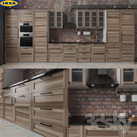 cuisine method ikea 3d models kitchen ikea torhamn