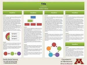scientific research poster template google search With posterpresentations com templates