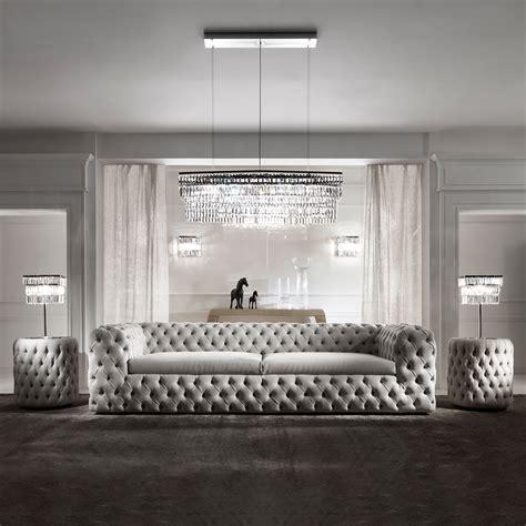 modern luxury italian sofa tufted nubuck leather sofa  livingroom furniture buy luxury