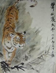 painting tigers – Ink, Yarn & Beer