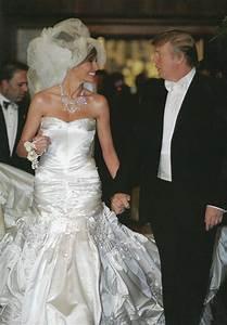 wedding dress inspiration from melania knauss trump With donald trump wife wedding dress