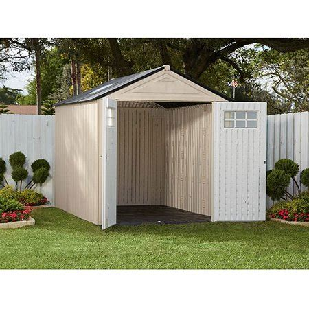 walmart sheds rubbermaid rubbermaid 7 x 7 storage building maple walmart