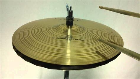 Paiste Signature Precision Sound Edge Hi Hat Cymbals 14