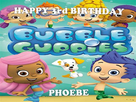 Guppies Cake Toppers by Guppies Edible Cake Topper