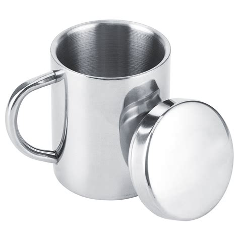 By continuing to use aliexpress you accept our use of cookies (view more on our privacy policy). Noref Double Wall Mug,Insulated Cups,Portable Stainless Steel Double Wall Mug Anti‑scald Coffee ...