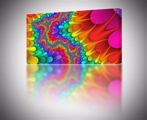 colorful wall decor 4 sizes colorful abstract 001 canvas print home wall