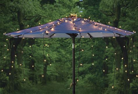 waterfall umbrella canopy light cover the green