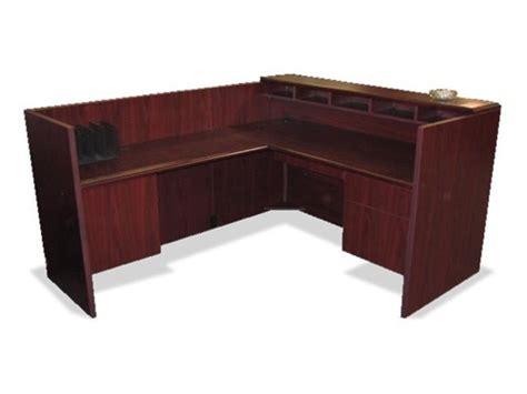used reception desk used receptionist desks