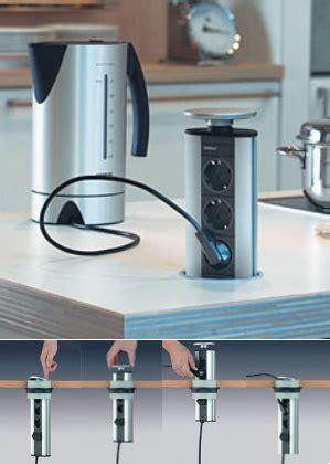 bloc prise cuisine escamotable bloc prises escamotable evoline achat vente de accessoires plan de travail pour cuisine