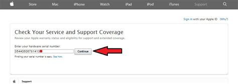 iphone serial number check check purchase date of apple device warranty status