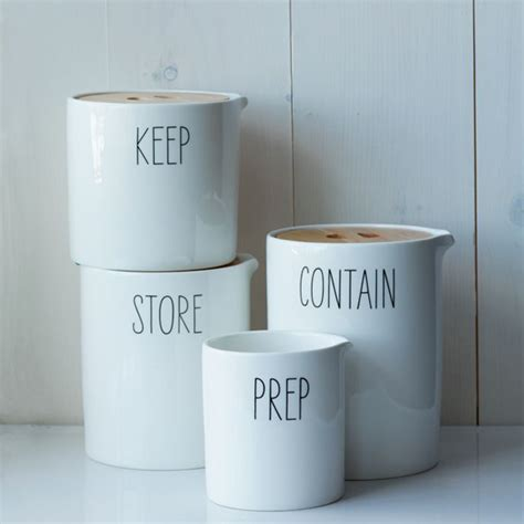 Kitchen Storage Canisters by Labeled Kitchen Storage Canisters Design Crush