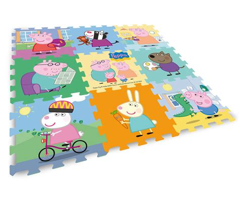 tappeto puzzle peppa pig tappeto puzzle peppa pig gch22005 giocheria