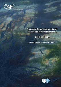 Sustainable Management And Resilience Of Arctic Wetlands