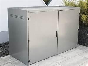 Fahrradbox Für 2 Fahrräder : metall fahrradgarage f r 1 2 fahrr der ~ Whattoseeinmadrid.com Haus und Dekorationen