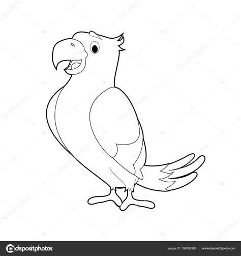 immagini di bambini piccoli facile colorare disegni animali bambini piccoli pappagallo