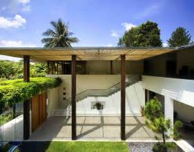 courtyard homes contemporary courtyard house in singapore idesignarch interior design architecture